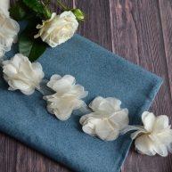 Шифоновый бежевый цветочек