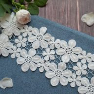 Кружева ленты цветы