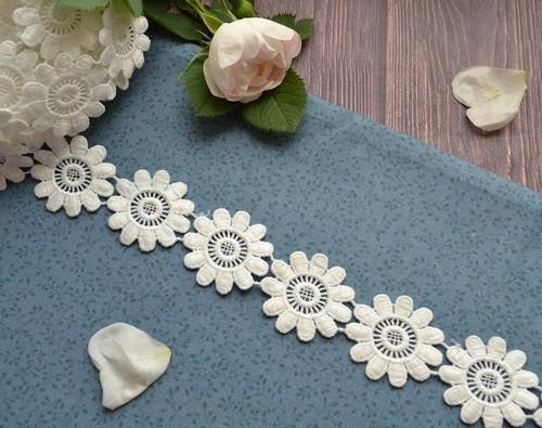 Нежные цветочки для рукоделия 35мм