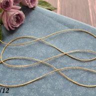 Шнур для рукоделия золото 1.5мм