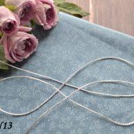 Шнур для рукоделия серебро 1,5мм