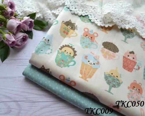Хлопковая ткань  для рукоделия TKC009 • TKC050 1