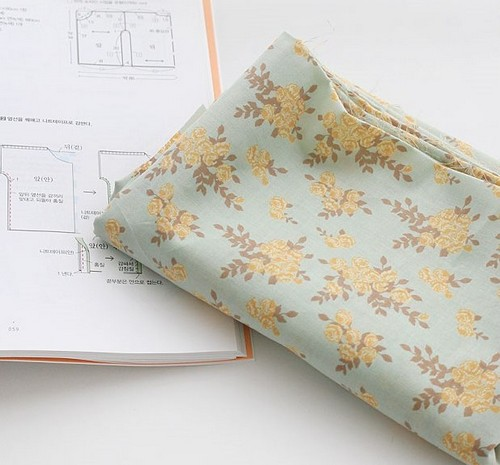 Хлопковая ткань для рукоделия TKC132
