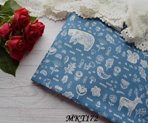 Хлопковая ткань  для рукоделия TKC172 • TKC172 3