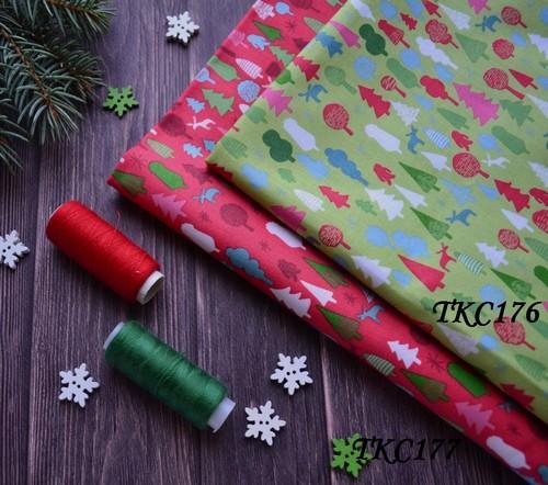 Хлопковая ткань  для рукоделия TKC176 • TKC176 1