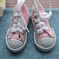 Кеды  для кукол розовые 5*2,7см