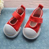 Туфельки  для кукол красные