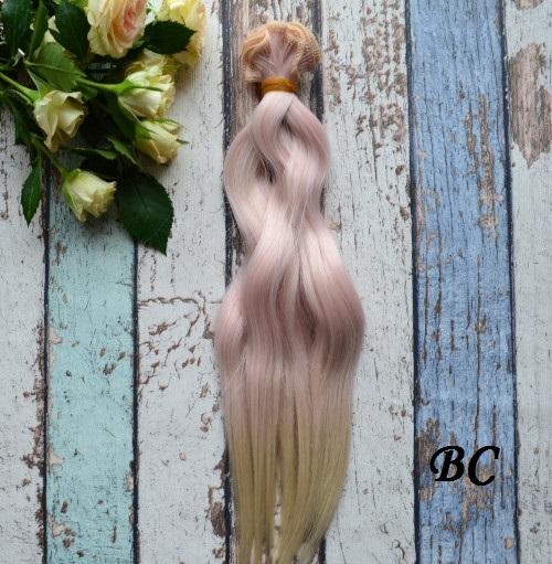 Волосы для кукол волнистые ВС • VBC
