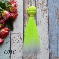 Волосы для кукол прямые C01C