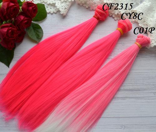 Волосы для кукол прямые CY8C • VC01P 3