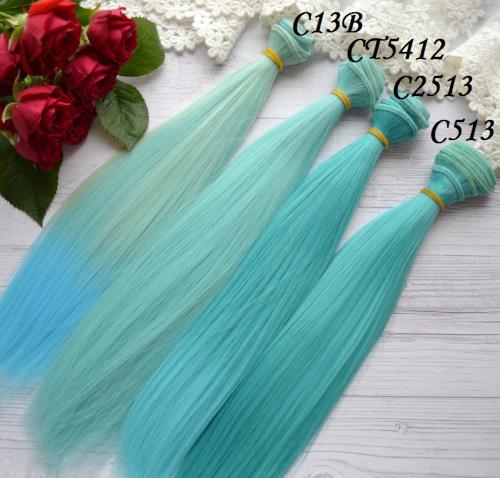 Волосы для кукол прямые CT5412 • VC13B 3