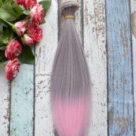 Волосы для кукол прямые C15om