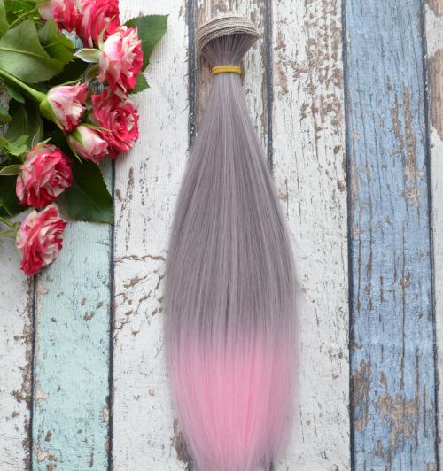 Волосы для кукол прямые C15om • VC15om 25
