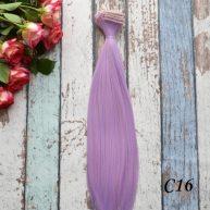 Волосы для кукол прямые C16