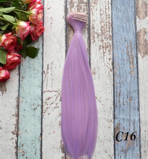 Волосы для кукол прямые C16 • VC16 25