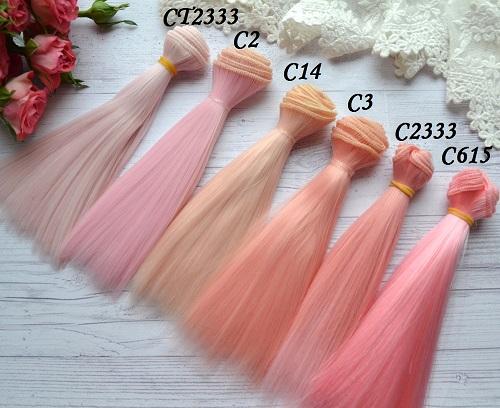 Волосы для кукол прямые C2333 • VC2 1