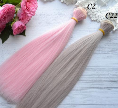 Волосы для кукол прямые C2 • VC2 3
