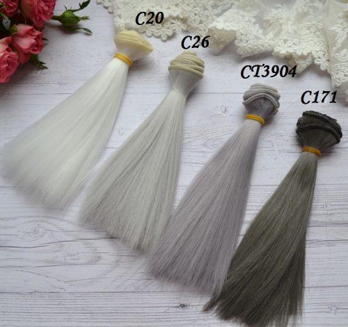 Волосы для кукол прямые C20 • VC20 1