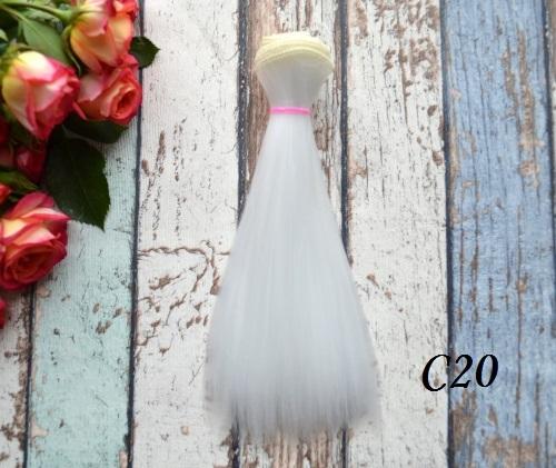 Волосы для кукол прямые C20 • VC20 15