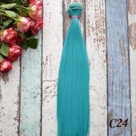 Волосы для кукол прямые C24