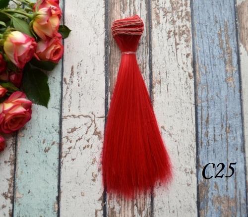 Волосы для кукол прямые C25 • VC25 15