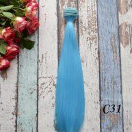 Волосы для кукол прямые C31