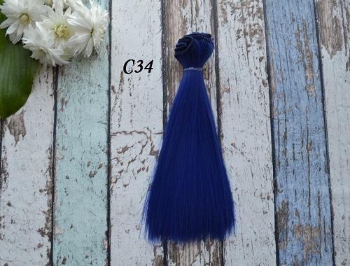 Волосы для кукол прямые C34 • VC34 15