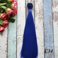 Волосы для кукол прямые C34