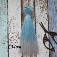 Волосы для кукол прямые C34om