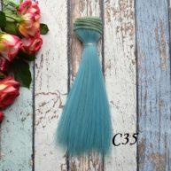 Волосы для кукол прямые C35