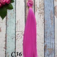 Волосы для кукол прямые C36
