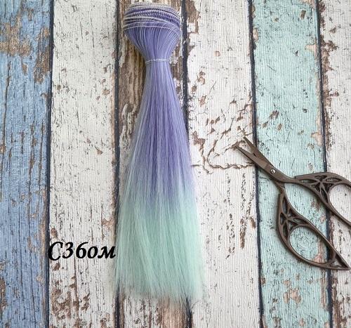 Волосы для кукол прямые C36ом • VC36om 15