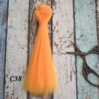 Волосы для кукол прямые C38