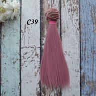 Волосы для кукол прямые C39