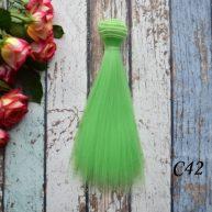 Волосы для кукол прямые C42ом