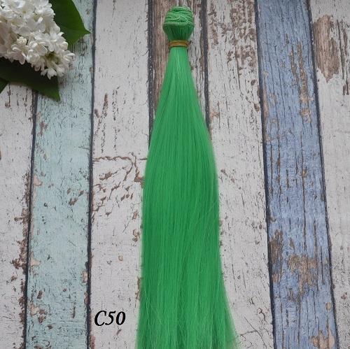 Волосы для кукол прямые C50 • VC50 25