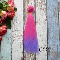 Волосы для кукол прямые C55C