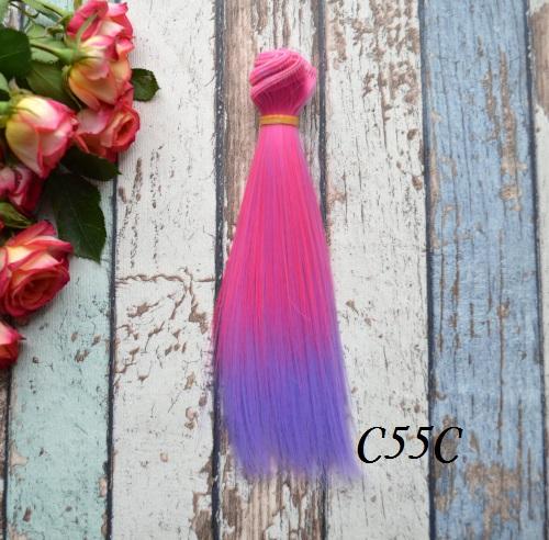 Волосы для кукол прямые C55C • VC55C 15