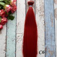 Волосы для кукол прямые C6