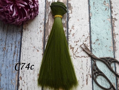 Волосы для кукол прямые C74C • VC74C 15