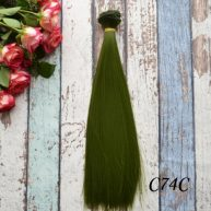 Волосы для кукол прямые C74C