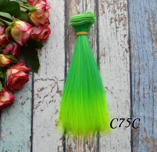 Волосы для кукол прямые C75C • VC75C 15