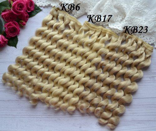 Волосы для кукол KB17 • VKB6 1