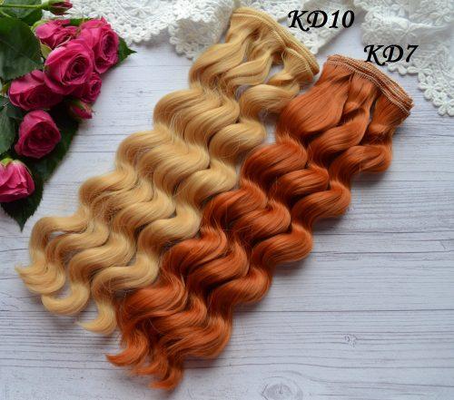 Волосы для кукол KD7 • VKD10 1
