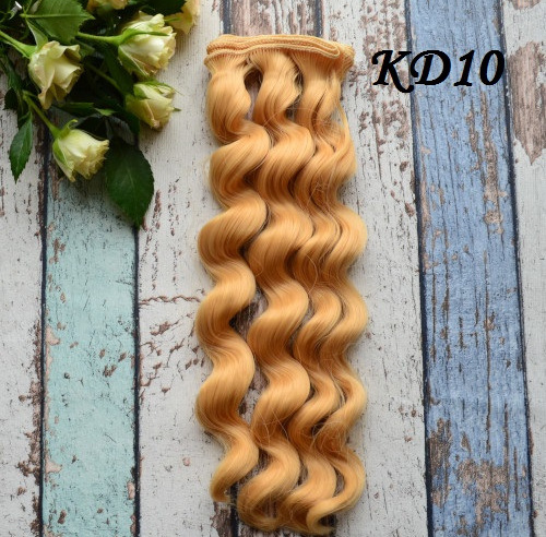 Волосы для кукол KD10 • VKD10