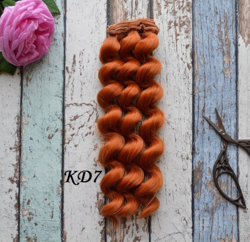 Волосы для кукол KD7 • VKD7