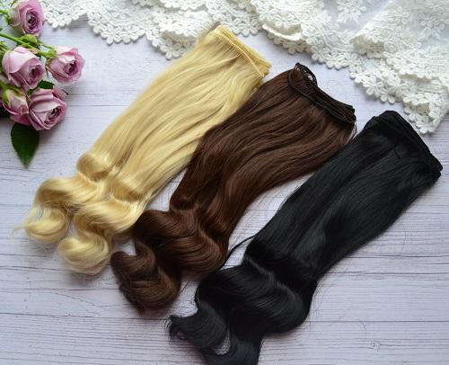 Волосы для кукол KK11 • VKK11 1