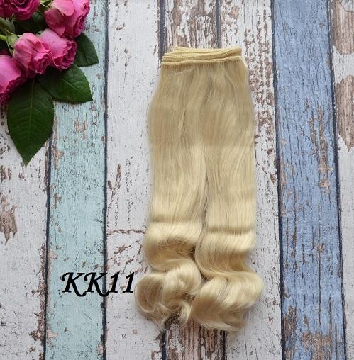 Волосы для кукол KK11 • VKK11 25