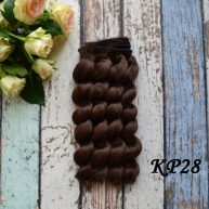 Волосы для кукол KP28
