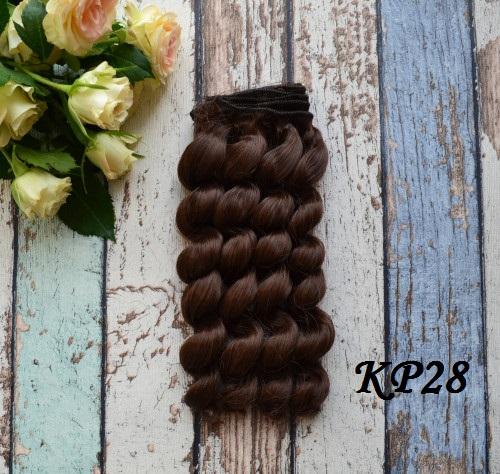 Волосы для кукол KP28 • VKP28